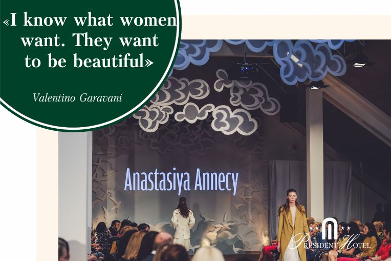 "The grand show of the spring-summer collection Anastasiya Annecy in the ""President Hotel"""